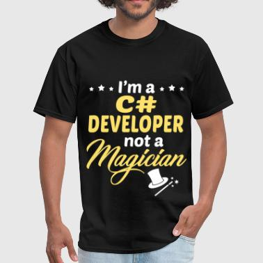 C Developer C# Developer - Men's T-Shirt