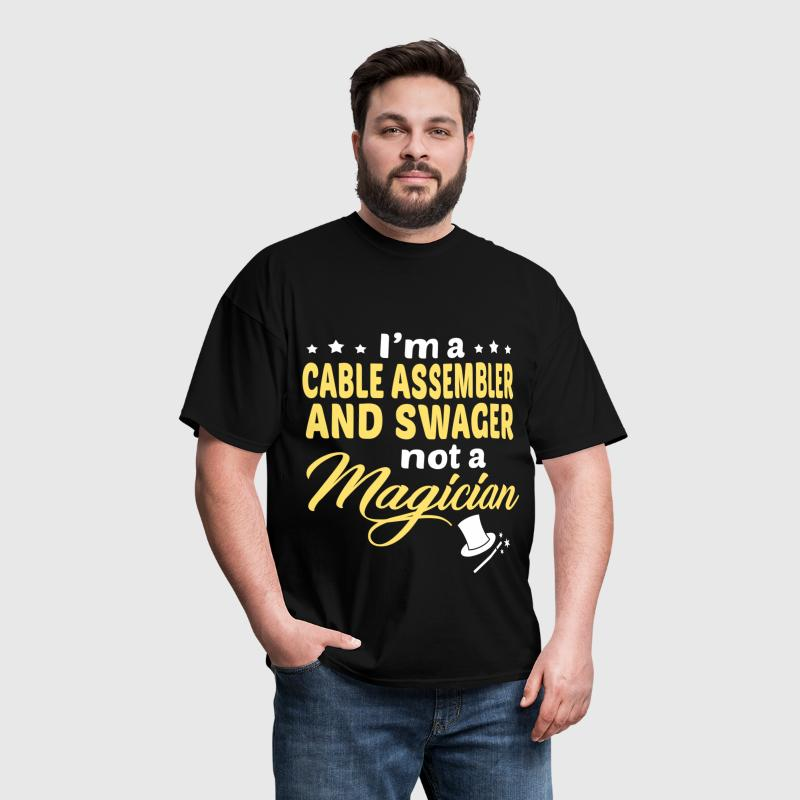 Cable Assembler And Swager T-Shirt | Spreadshirt