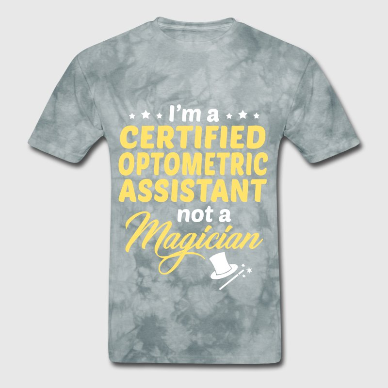Certified Optometric Assistant By Bushking Spreadshirt