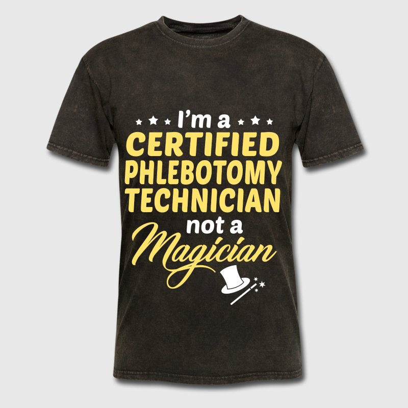 Certified Phlebotomy Technician By Bushking Spreadshirt
