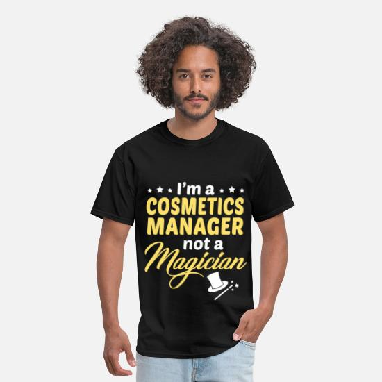Cosmetics Manager Apparel T-Shirts - Cosmetics Manager - Men's T-Shirt black