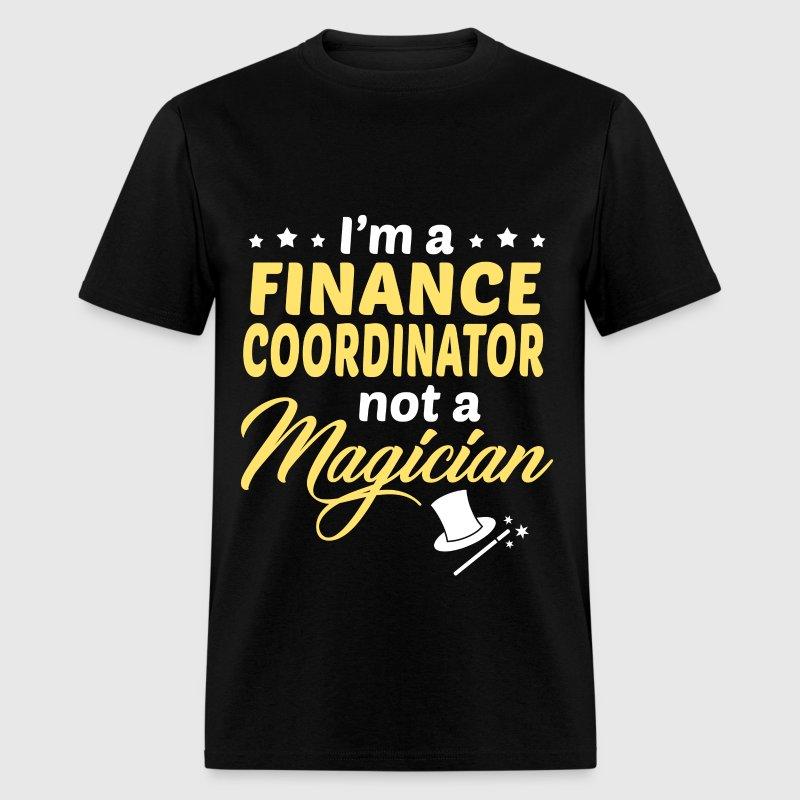 finance coordinator mens t shirt