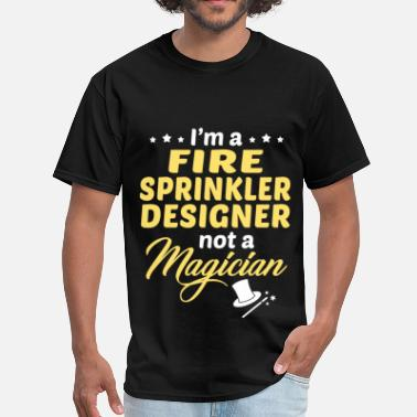 Fire Sprinkler Designer Fire Sprinkler Designer - Men's T-Shirt