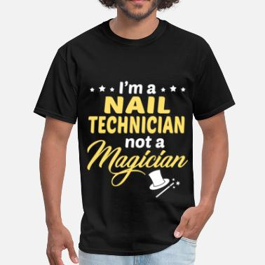 Nails Nail Technician - Men's T-Shirt