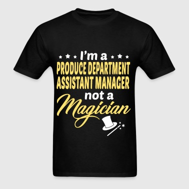 Produce Department Assistant Manager - Men's T-Shirt