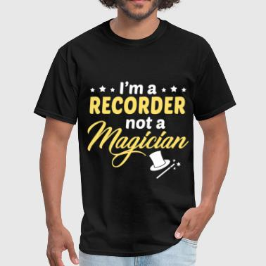Recorder - Men's T-Shirt