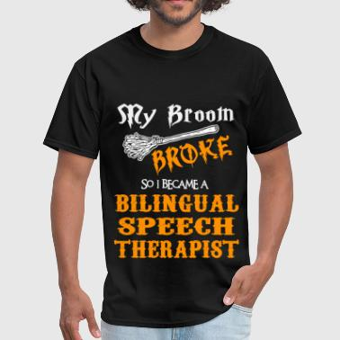 Bilingual Bilingual Speech Therapist - Men's T-Shirt