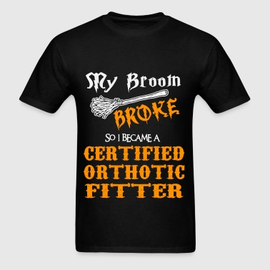 Certified Orthotic Fitter - Men's T-Shirt