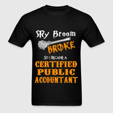Certified Public Accountant - Men's T-Shirt