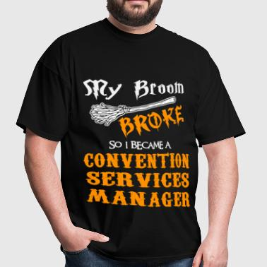 Convention Services Manager - Men's T-Shirt