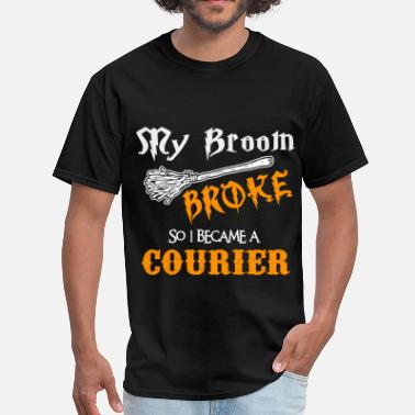 Courier Funny Courier - Men's T-Shirt