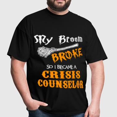 Crisis Counselor - Men's T-Shirt