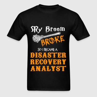 Disaster Recovery Analyst - Men's T-Shirt