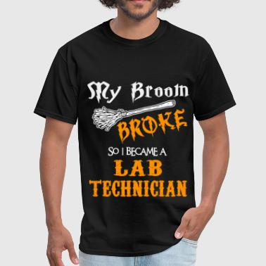 Lab Technician Funny Lab Technician - Men's T-Shirt
