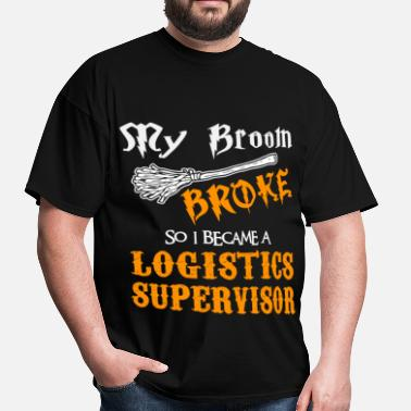 Logistic Logistics Supervisor - Men's T-Shirt