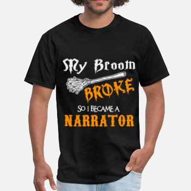 Narrator Funny Narrator - Men's T-Shirt