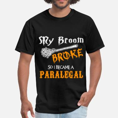 Broom Paralegal - Men's T-Shirt