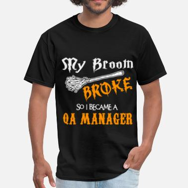 Qa Manager Funny QA Manager - Men's T-Shirt