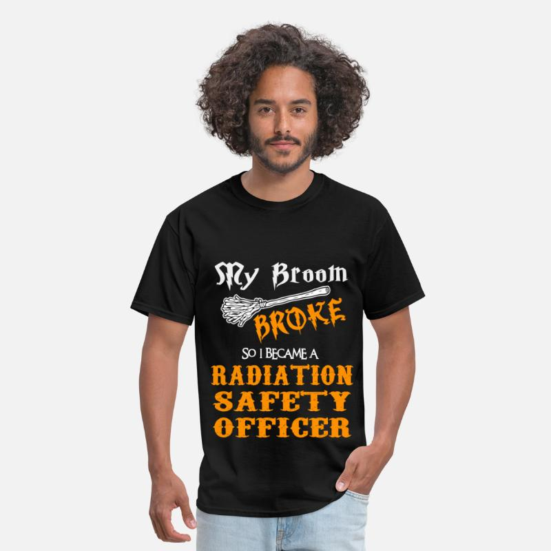 Safety T-Shirts - Radiation Safety Officer - Men's T-Shirt black