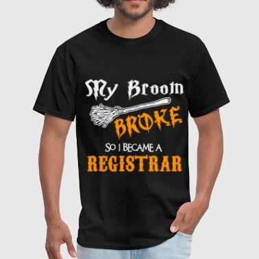 Registrar Funny Registrar - Men's T-Shirt