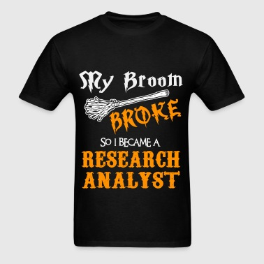 Research Analyst - Men's T-Shirt
