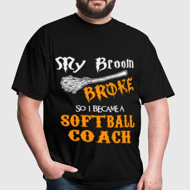 Softball Coach - Men's T-Shirt