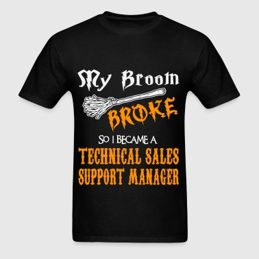 Technical Sales Support Manager - Men's T-Shirt