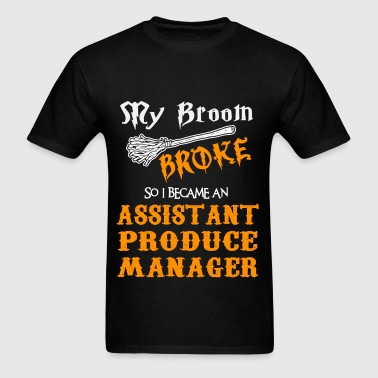 Assistant Produce Manager - Men's T-Shirt