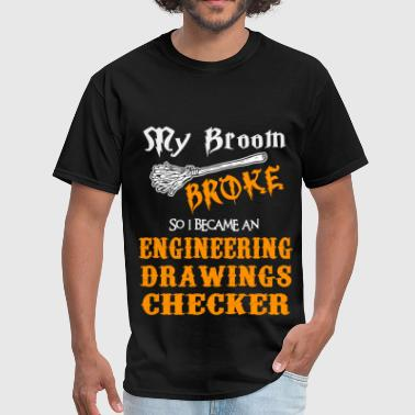 Engineering Drawings Checker - Men's T-Shirt