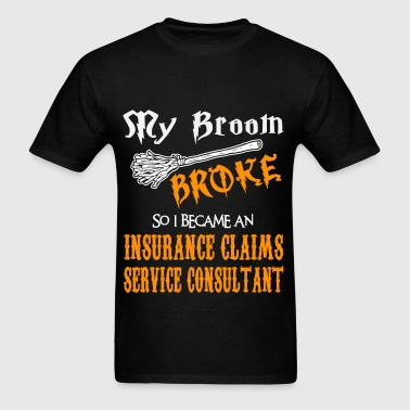 Insurance Claims Service Consultant - Men's T-Shirt