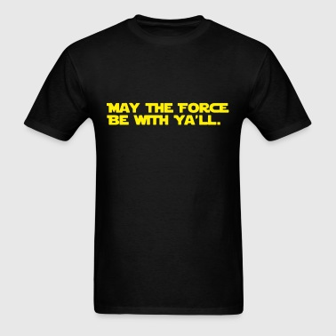 Funny Southern Star Wars - Men's T-Shirt