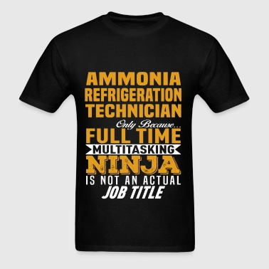 Ammonia Refrigeration Technician - Men's T-Shirt