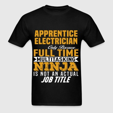 Apprentice Electrician - Men's T-Shirt