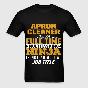 Apron Cleaner - Men's T-Shirt