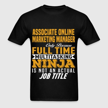 Associate Online Marketing Manager - Men's T-Shirt