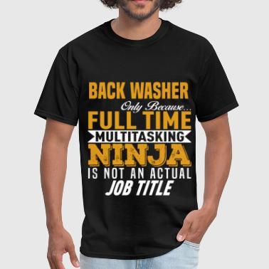 Defensive Back Back Washer - Men's T-Shirt