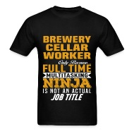 sc 1 st  Spreadshirt & Brewery Cellar Worker by bushking | Spreadshirt