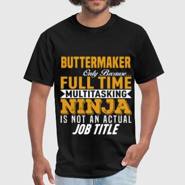 Multitasking Ninja Buttermaker - Men's T-Shirt