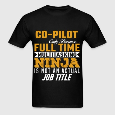 Co-Pilot - Men's T-Shirt