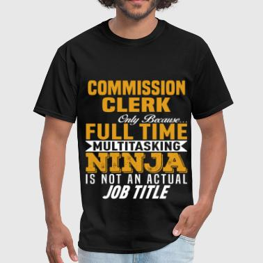 Commission Commission Clerk - Men's T-Shirt
