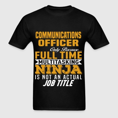 Communications Officer - Men's T-Shirt