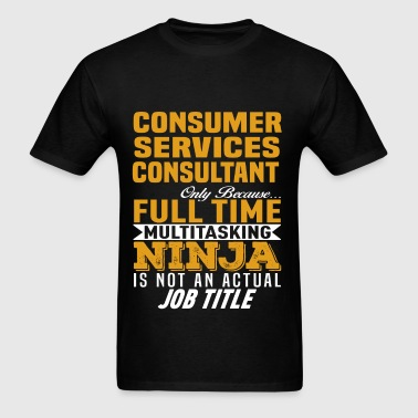 Consumer Services Consultant - Men's T-Shirt