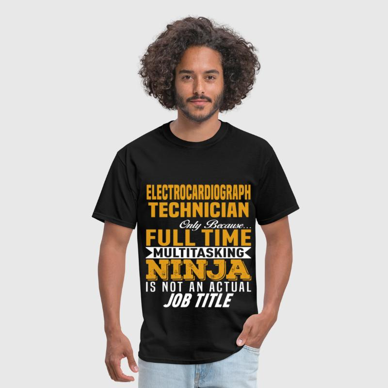Electrocardiograph Technician Mens T Shirt