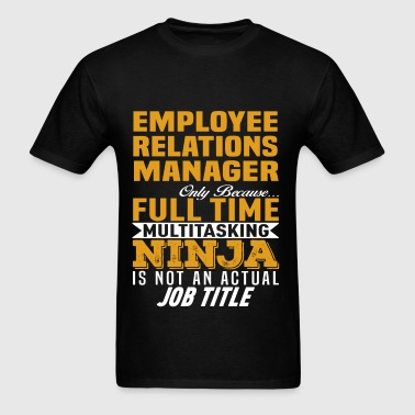 Employee Relations Manager - Men's T-Shirt