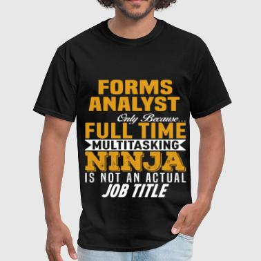 Forms Analyst - Men's T-Shirt