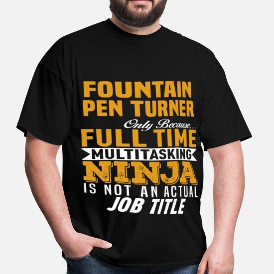 Fountain Pen Turner Men's T-Shirt   Spreadshirt