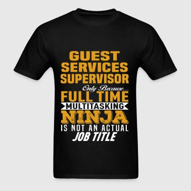 Guest Services Supervisor - Men's T-Shirt