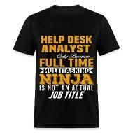Help Desk Analyst By Bushking | Spreadshirt
