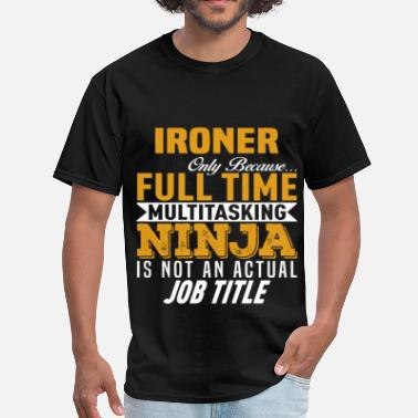 Iron & & Ironer - Men's T-Shirt
