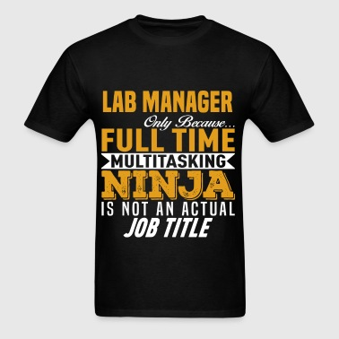 Lab Manager - Men's T-Shirt